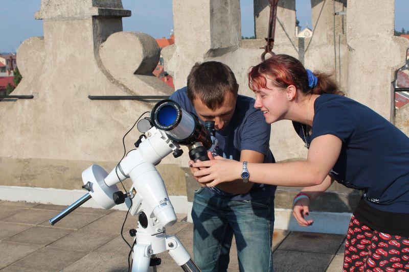 sluneční dalekohled LS60Hα LUNT