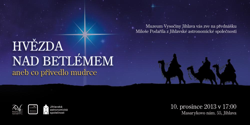 Hvězda nad Betlémem, Miloš Podařil, Muzeum Vysočiny Jihlava